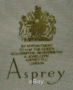 Rare Asprey London En Argent Sterling Ice Smasher Bar Circa 95 Dans Boîte D'origine