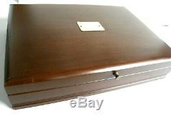 Reed Barton Ashmont Sterling 12 48 Flatware Set Pcs. Withchest 3030g Pas De Déchets