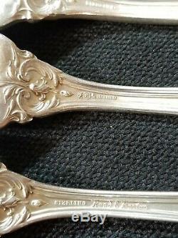 Reed & Barton Francis I 1ers Couverts En Argent Sterling De 36pc