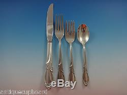 Rhapsody Par International Sterling Silver Service De Vaisselle Pour 8 Pièces 43 Pièces