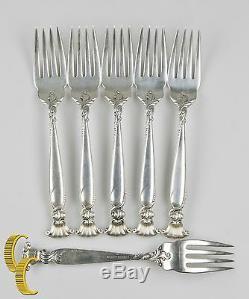 Romance De La Mer Par Wallace Sterling Silver Belle Set 30 Pièces Flatware
