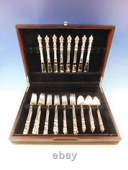 Salle Carpenter Par Towle Sterling Silver Service Set 8 Pour Flatware 32 Pièces