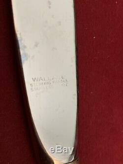 Swirl Wallace En Argent Sterling W114 Set 55 Pcs + 1300g Service Au Service Des Cuillères