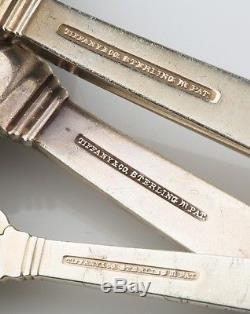 Tiffany & Co. 63 Pièces Ensemble De Cadeau En Argent Sterling Hampton Argenterie Couverts