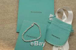 Tiffany & Co Bracelet En Argent Sterling Moyenne 7,25 Free USA Shipping