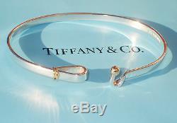Tiffany & Co En Argent Sterling Et Or Jaune 18 Carats 18k Crochet & Bracelet Eye