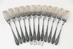 Tiffany & Co. Faneuil Service En Argent Sterling Pour Flatware Douze Pièces 48 Withm