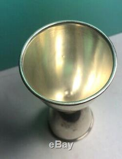 Tiffany & Co Modèle En Bambou Argent Sterling À Double Turlutte Rare 925 Vintage
