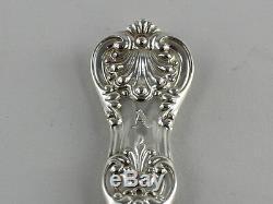 Tiffany English King Fourchette À Déjeuner En Argent Sterling 6 7/8 Monogramme A