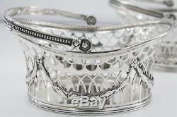 Vintage Gorham A4245 Sterling Silver Set De Paniers