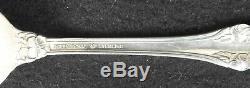 Wild Rose Par Set International Silver Sterling Pour 12 Flatware Service 66 Pcs